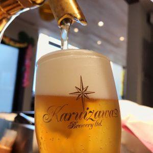 🍺 軽井沢の生ビールが始まりました🍺