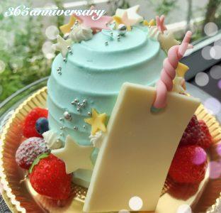 🎋 本日限定!七夕デコレーションケーキ 🎋
