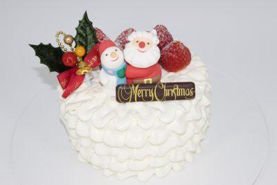 クリスマスケーキのご予約は終了しました。