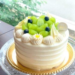 🆕季節のデコレーションケーキのご紹介🍁