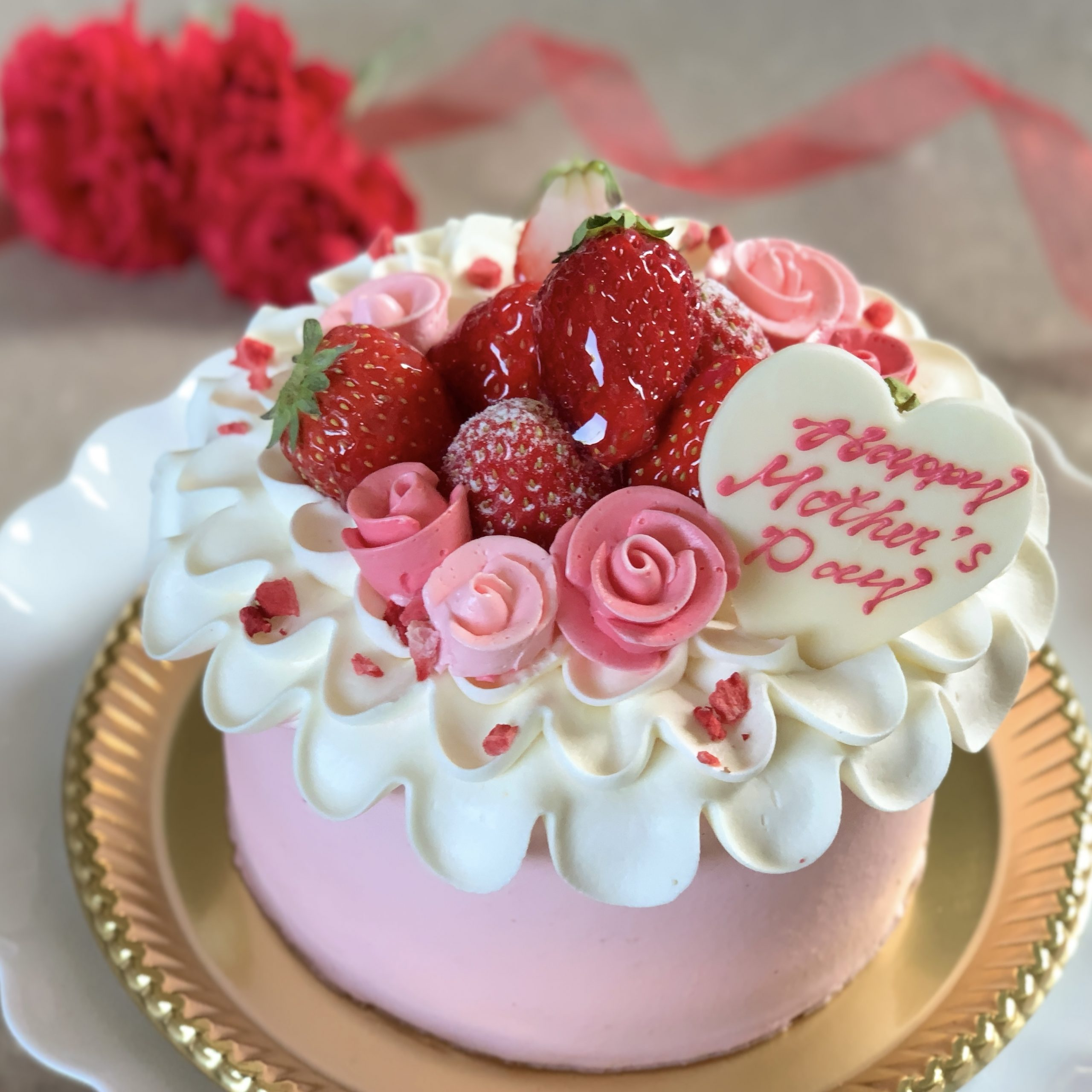 2021 母の日ケーキ予約開始!
